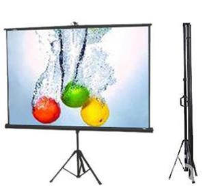 Scope Video Projector Screen 250*250 With Stand